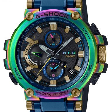 CASIO G-SHOCK Limited Edition Wristwatch Lunar Rainbow