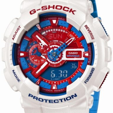 CASIO G-Shock Blue and Red Series Men`s Watch