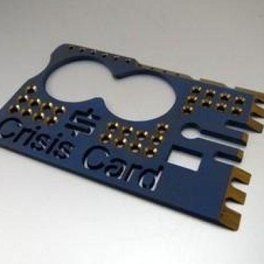 CRISISBLUE Snody Crisis Card Gen II