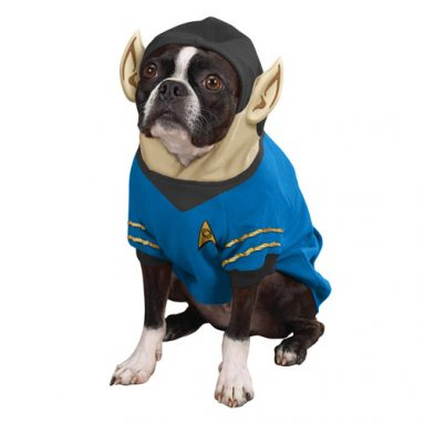 Star Trek The Original Series Spock Dog Hoodie