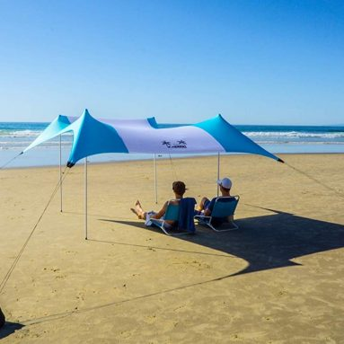 Cabana Beach Umbrella with Sand Anchor