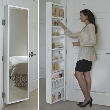 Cabidor Mirrored Storage Cabinet