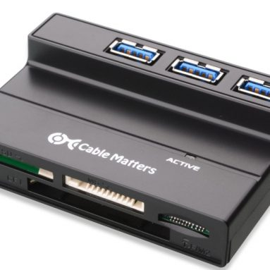 Cable Matters 3-Port SuperSpeed USB 3.0 Hub