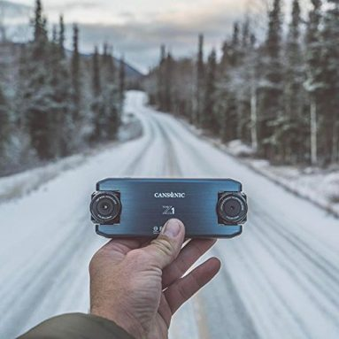 Cansonic UltraDuo Z1 Dual Lens Dash Cam Car Camera Dashboard Digital Driving Video Recorder