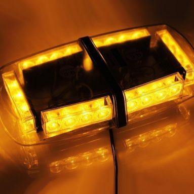 Car LED Strobe Light Car Emergency Warning Mini Strobe Light Bar