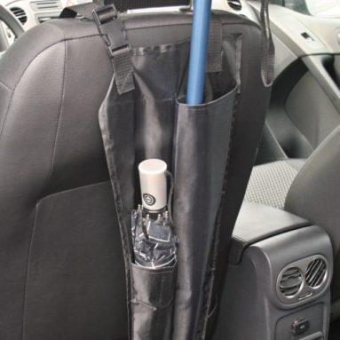 Car Truck Back Seat Umbrella Cane Holder Hanging Waterproof Organizer Bag