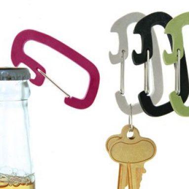 Carabiner / Bottle Opener Keychain
