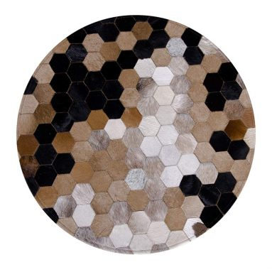 Carpet American Faux Leather Round