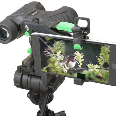 Carson HookUpz 2.0 Universal Smartphone Optics Digiscoping Adapter