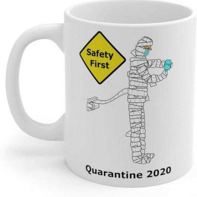 Cartoon Cup Porcelain 11 oz Coffee Cup