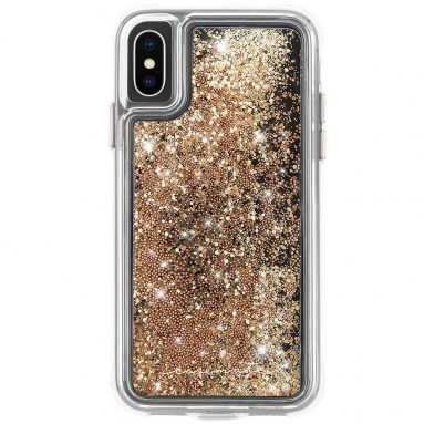 Case-Mate – iPhone XS Case – WATERFALL – iPhone 5.8 – Gold