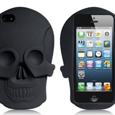 3D Skull Silicone Case for iPhone 5s