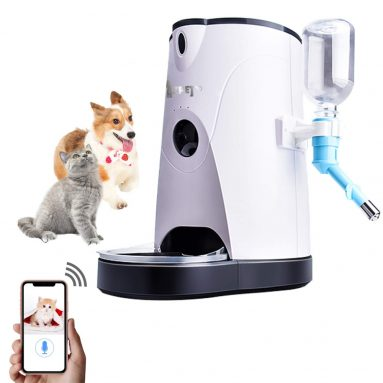 Cat Food Auto Feeder Automatic and Water APP Control Timer Programmable Video