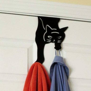 Cat Over the Door Double Hook Hanger