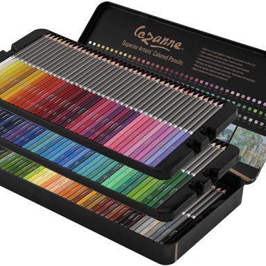Cezanne Professional Colored Pencil Set of 120 Colors