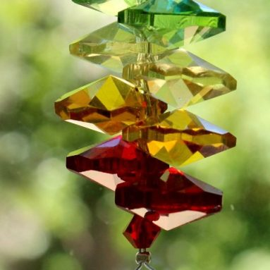 Chakra rainbow Maker Home Ornament Glass