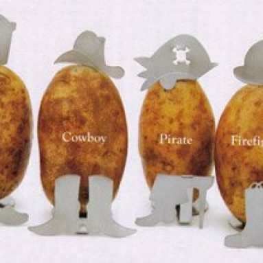 Charcoal Companion Potato People