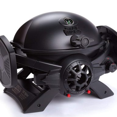 Chef Star Wars TIE Fighter Gas Grill