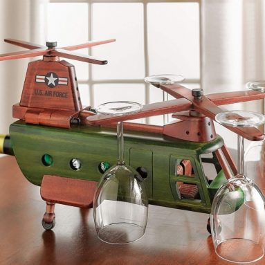 Chinook Helicopter Wine Rack