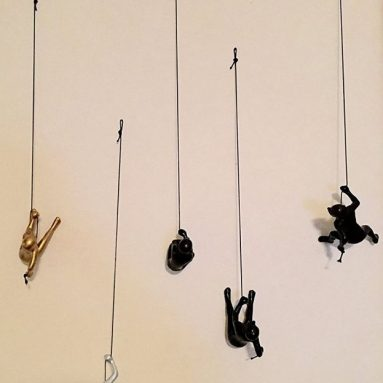 Climbing Man Choco silver and Gold color set