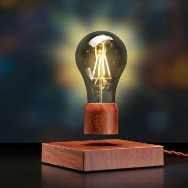 The Levitating Light Bulb