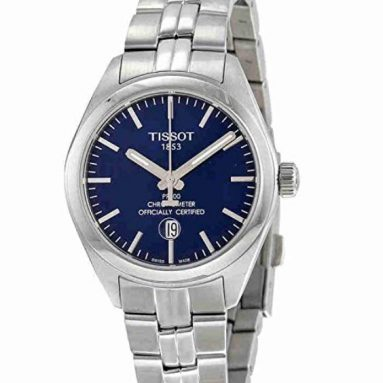 58% discount: Tissot Lady Blue Dial Stainless Steel Watch