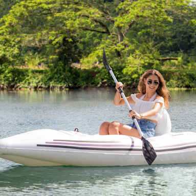 The Motorized 8′ Inflatable Boat