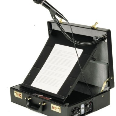 The Orator's Briefcase PA System