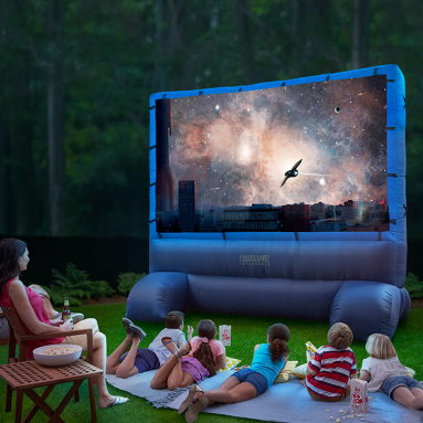 The 12′ Outdoor Inflatable Movie Screen