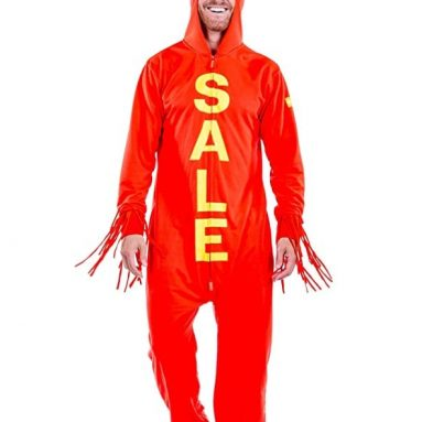 Tipsy Elves Men's Inflatable Sale Halloween Costume