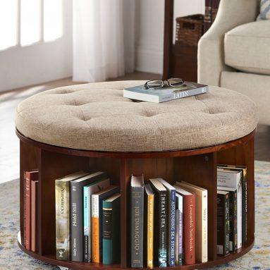 The Bookcase Ottoman
