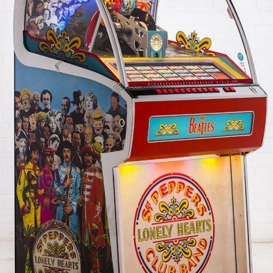 The Sgt. Pepper's Vinyl Jukebox
