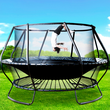 The Bungee Tension Trampoline