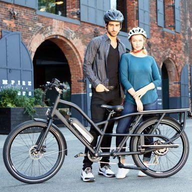 The Cargo Hauling Electric Bike