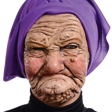 Mario Adult Granny Mask