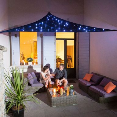 The LED Starry Night Sunshade
