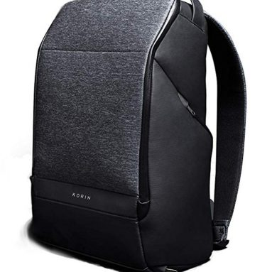 Travel Fusion Anti-theft Laptop Backpack with USB Charging Port