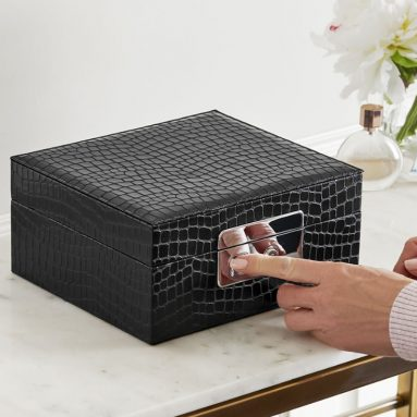 The Biometric Secure Jewelry Box