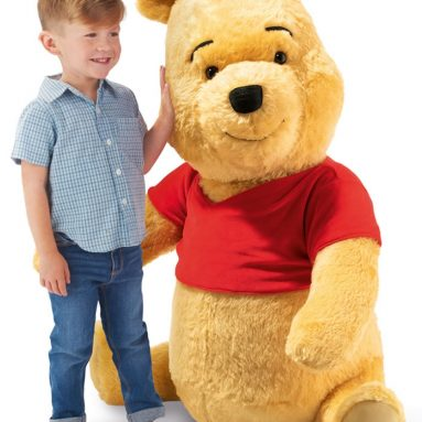 The Lifesize Genuine Steiff Winnie The Pooh
