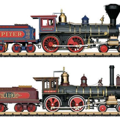 The 150th Anniversary Golden Spike Railroad Set