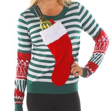 Christmas Stocking Tacky Sweater