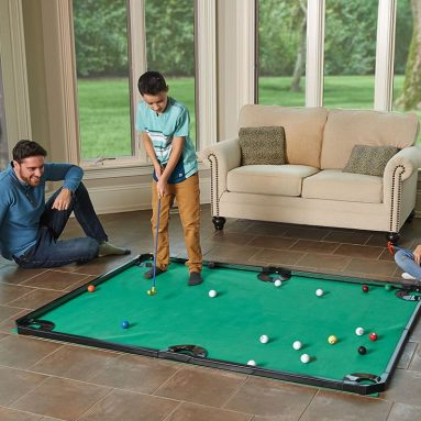 The Putting Pool Table