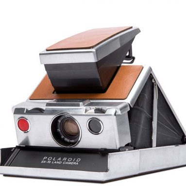 The Genuine Restored Polaroid Camera