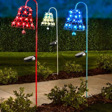 The Patriotic Solar Twinkling Lights