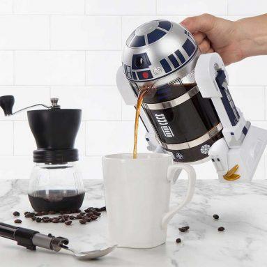 The R2-D2 Coffee Press