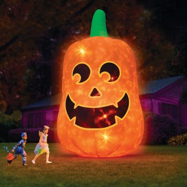 The 16′ Glowing Inflatable Jack O' Lantern