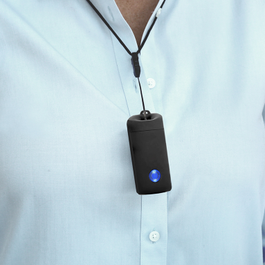 The Rechargeable Personal Air Purifier