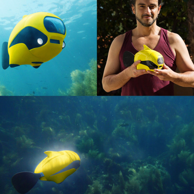 The Only Underwater Exploring Drone