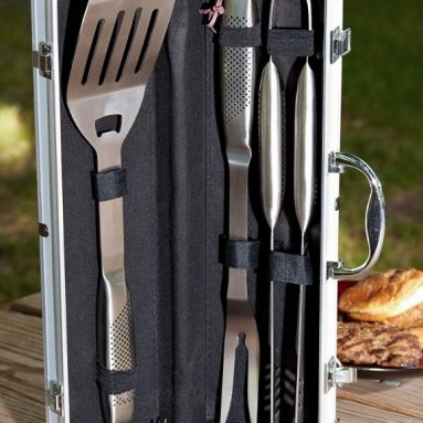 Personalized-Grill Master Stainless Steel Grilling Tools