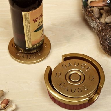 12 Gauge Shotgun Shell Coaster Se